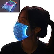7 Colors LED Light up Mask Glowing Luminous Mask ... - Amazon.com