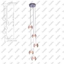modern crystal led chandeliers 5 lights crystal globes g4 retrofitted bulbs stair lights dinning room banner5 stair lighting