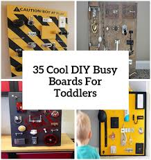 35 Cool And Easy <b>DIY</b> Busy <b>Boards</b> For Toddlers - Shelterness