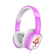 Детские наушники Elari, FixiTone Pink, розовые