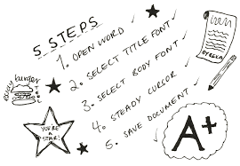 steps to writing an essay   slack on off  steps to writing essay doodle