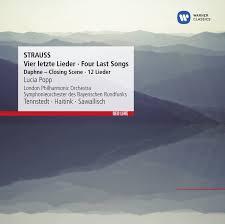 <b>Strauss</b>: <b>Vier letzte</b> Lieder, Four, Four Last Songs | Warnerclassics