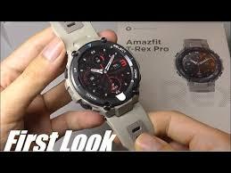 Unboxing: <b>Amazfit T</b>-<b>Rex</b> Pro Rugged Sports <b>Smartwatch</b>! <b>First</b> ...