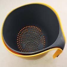 Multifunctional 2-in-1 <b>Double Drain Basket</b> – hovizza