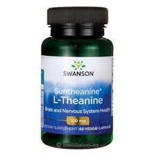 Swanson Ultra Suntheanine L-Theanine, 100 мг, 60 ... - Health Shop