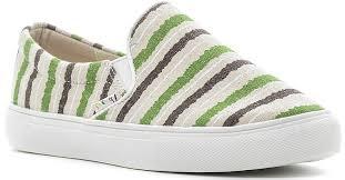 Купить <b>слипоны Dino Ricci Trend</b>, цвет: белый, зеленый ...