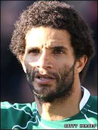 Portsmouth goalkeeper David James and his big hair. David James: One fro all and all fro one - _44566608_david_james270getty