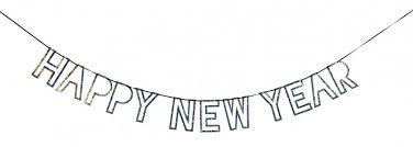 <b>MeriMeri Гирлянда</b> Happy New Year - Акушерство.Ru