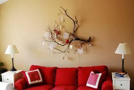 wall decor entryway tree branch use wonderful wall decorating ideas inside enchanting sitting room wit