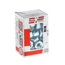 Купить <b>Гайка шестигранная DIN934 М10</b> оцинк. 50 шт Tech-Krep