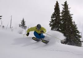 Image result for skiing on a ridge