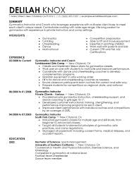 fitness instructor resume samples template fitness instructor resume samples