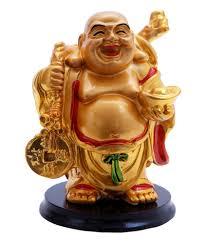 dealing feng shui: oyedeal multicolour resin fengshui laughing buddha showpiece