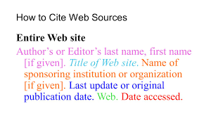 works cited page to create a words cited page press ldquo ctrl rdquo and how to cite web sources entire web site author s or editor s last first