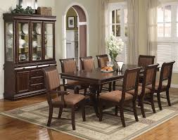 Dark Dining Room Set Rectangular Awesome Dining Room With Black Wood Rectangular Table