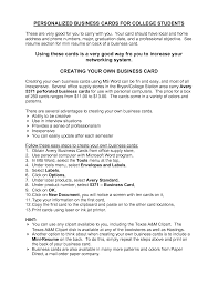 creating a college resumes template creating a college resumes