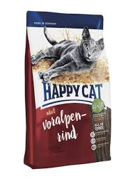 <b>Сухой корм</b> для взрослых кошек <b>Happy Cat</b> Adult альпийская ...