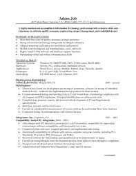 quality assurance resume samples sample resumes quality assurance resume samples