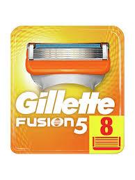 Сменные <b>кассеты</b> для бритья <b>FUSION</b>, 8 шт <b>GILLETTE</b> 2147725 в ...