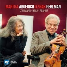 <b>Martha Argerich</b> & <b>Itzhak</b> Perlman Schumann, Bach, Brahms LP