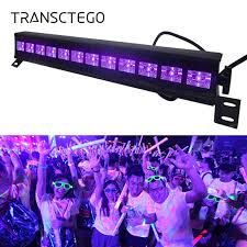 12 LED <b>Disco UV</b> Violet <b>Black Lights</b> DJ 36W Par Lamp <b>UV</b> For ...