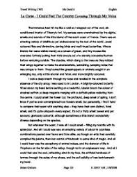english language   travel writing    corsica trip    gcse english    page  zoom in