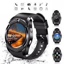 LEEHUR V8 <b>Bluetooth</b> Smart Watch Band Touch Screen Wristband ...