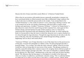 A Streetcar Named Desire Lesson Plan     Please contact our custom service if you have any questions A Streetcar  Named Desire Essay Questions    Streetcar Named Desire Essays