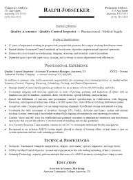 Resume Cover Letter For Quality Control Inspector print posters Resume Format Quality Control Inspector Resume Sample How to get Taller