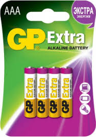 <b>Батарейка GP Extra</b> GP24AX-2CR4 (4x <b>AAA</b>) <b>Батарея</b> щелочная ...