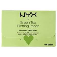 Матирующие <b>салфетки</b> для лица <b>NYX Professional Makeup</b> Green ...