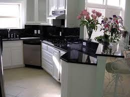 kitchen black granite countertops