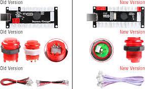 Hikig 2 Player led Arcade Buttons and joysticks DIY kit ... - Amazon.com