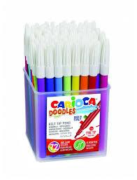 """<b>Carioca Фломастеры</b> """"<b>Doodles</b>"""" 72 шт. (42261) — купить по ..."""