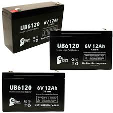 3x Pack - Compatible <b>ROFLAN</b> 6V8AH Battery - Replacement ...