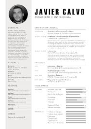 these are the best worst fonts to use on your resume disentildeo atractivo de cv en espantildeol javier calvo arquitecto e interiorista