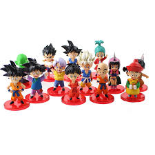 <b>13pcs</b>/<b>set Dragon Ball</b> Z Figures Son Goku Gohan Goten Vegeta ...