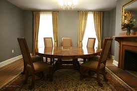 Dining Room Table Size For 10 Dining Room Tables For 10 Thousand Oaks Round Dining Room Table