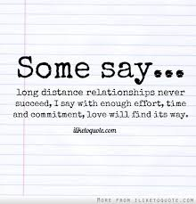 Bianca | Long distance relationship takes a lot of patience... via Relatably.com
