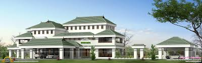 sq ft house plan   Kerala home design and floor plans sq ft luxury house