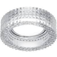 <b>Светильник Gauss Glass</b> CR033 кристал Gu5.3 - Встраиваемые ...