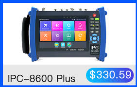 9800 Plus <b>7 Inch</b> IP Camera Tester CCTV Tester CVBS <b>Analog</b> ...