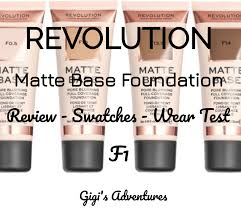 <b>Revolution Matte Base Foundation</b> (F1) Review   My New Favorite?!