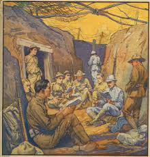 the horrific effects of trench warfare during wwi can be studying french in the trenches the literary di