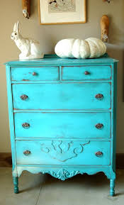 antique shabby chic painted dresser turquoise blue distressed paint blue shabby chic furniture