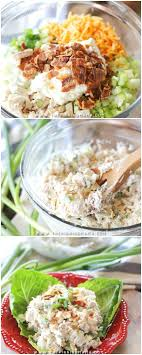 you have never had chicken salad like this this loaded chicken salad recipe is one agency office literally disappears hours