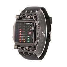 Fashion <b>LED Digital</b> Binary <b>Wrist Watch</b> - Black | Jumia Nigeria
