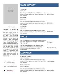 resume templates for mac resume builder