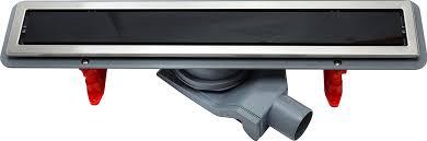 <b>Душевой лоток Pestan</b> Confluo Premium Line 550 черное стекло ...