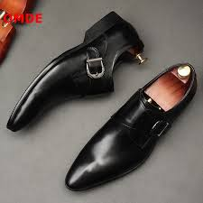 Pointed Toe Formal Shoes Man <b>Leather</b> Oxfords Spring Autumn ...